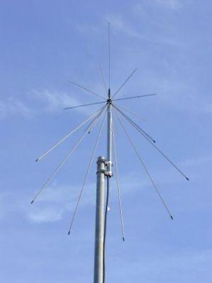 ScanKing royal discone RX 20-2000MHz TX 6/2m 70/23cm amateur scanner aerial
