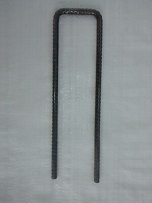 8mm U Pins 250mm x 70mm x 250mm - Bag of 50