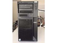 ibm x3200 m2 server tower, 6gb memory 1 x 146gb windows 10