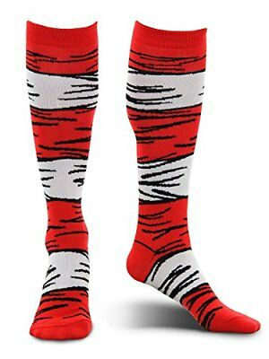 Dr. Seuss Cat in the Hat Kids Costume Socks by elope](Dr Seuss Cat In The Hat Costume)