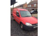Combo van breaking for spares in red