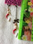 Betsey Johnson Cherry Earrings