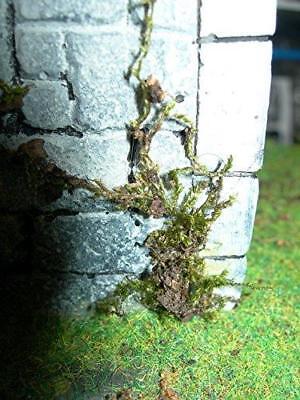 Moss / Lichen diorama / railway and wargaming accessory
