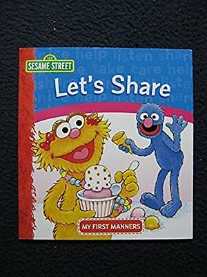 Lets Share  Sesame Street   My First Manners   Paperback   Jan 01  2006  Cons