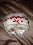 Hand Knitted Baby Bonnet