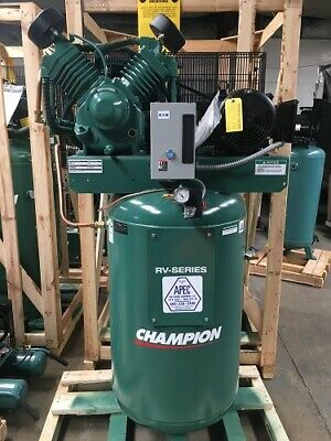 Champion 7.5hp 2-stage Single Phase 80 Gal. Air Compressor With After Cooler