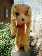 Vintage Stuffed Dog