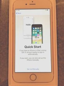 Preowned I-Phone 6s - 64Gb - Rose Gold - Nearly New Condition - Boxed - Vodafone