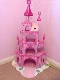 early learning center fairy princess castle with accessories