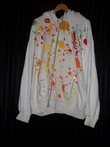 paint splatter hoodie ebay