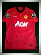 Manchester United Signed Jersey