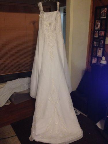 Used wedding dresses size 16 ebay for Wedding dresses for size 16