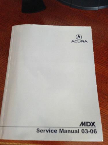 Acura Mdx Service Manual