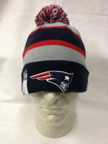 Patriots Pom Pom Hat Football Nfl Ebay