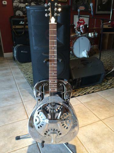 Metal Body Resonator Guitar Ebay