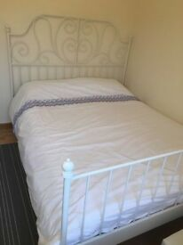 metal shabby chic doule bed
