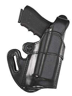 Best Black Leather Shoulder Holster for Select Weapon & Light