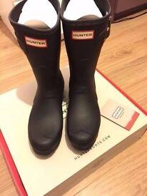 Hunter Boots Size 7 New + Original Box