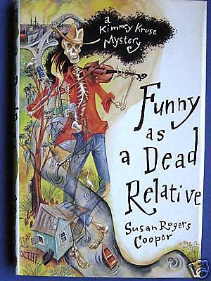FUNNY AS A DEAD RELATIVE-COOPER-STATED FIRST EDITION