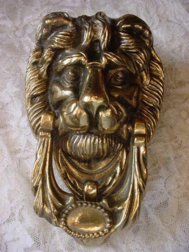 Lion Door Knocker Ebay