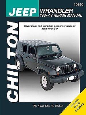 Repair Manual fits 1987-2011 Jeep Wrangler  CHILTON BOOK COMPANY