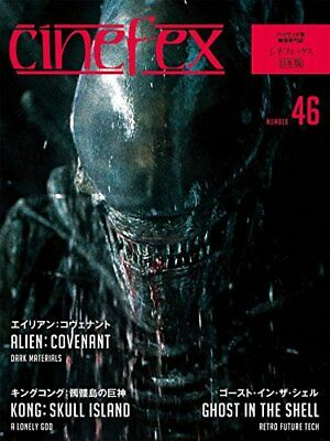 NEW Cinefex No.46 Japan Edition Book Alien: Covenant Ghost in the Shell Magazine