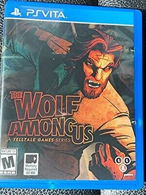 The Wolf Among Us (Sony PlayStation Vita, 2014) *pre-owned* $0 shipping