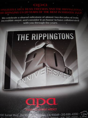RIPPINGTONS 20 Years Of Smooth Jazz PROMO POSTER AD