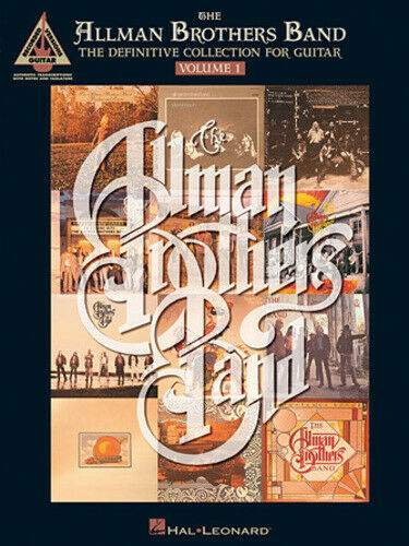 ALLMAN BROTHERS BAND  GUITAR TAB /  TABLATURE  / ***BRAND NEW*** /  VOLUME 1