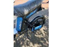 E scooter E Babeta Racceway Colour Blue Serial no. HP20200413094