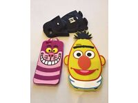"3D Cool Silicone iPhone 6 4.7"" Case Covers: Darth Vader, Cheshire Cat & Ernie"
