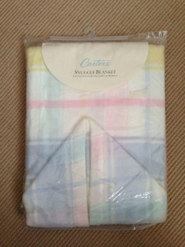 Pastel Plaid Baby Blanket Ebay