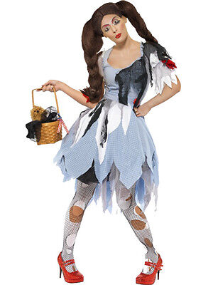 Deadly Dorothy Wizard Of OZ Halloween Costumes (Dead Dorothy Halloween Costume)
