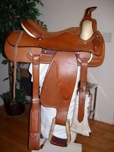 Kids saddle and rope saddle