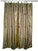Sheer Embroidered Panel