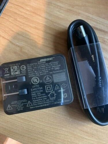 New, GENUINE Sealed AC Adapter with micro USB cable - for Bose Sleepbuds