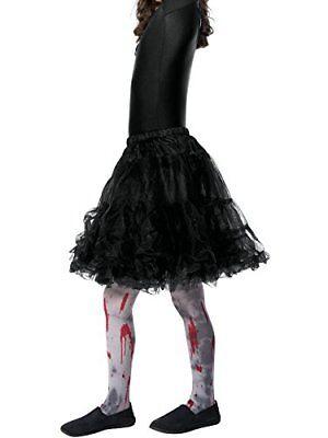 Halloween Zombie Dirt Tights, Child, Grey, with Blood Splatter](Halloween Dirt)