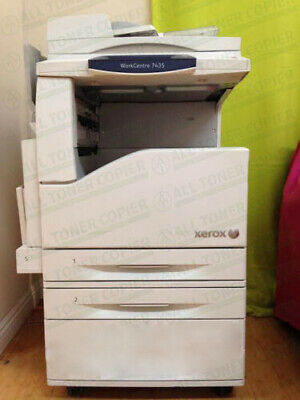 Xerox Workcentre 7435 Laser Color Bw Printer Scanner Copier 35ppm A3 Mfp 7428