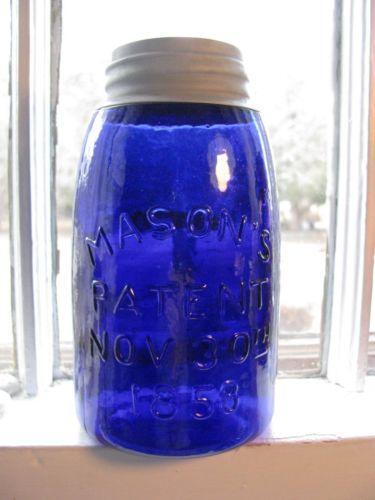 Cobalt Blue Jar Ebay