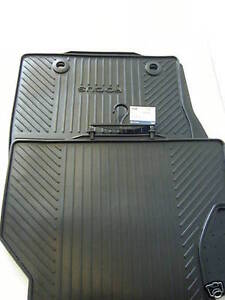 NEW Genuine Ford Focus 2001-2005 MK1  Rubber Floor Mats (Front)