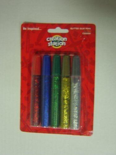 Creation Station 12 ml Glitter Glue Pens CS2000