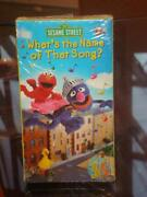 Sesame Songs VHS