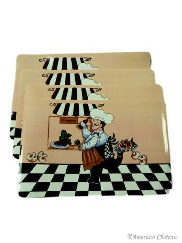 Fat Chef Placemats Ebay