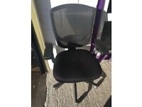 40 Available-Black Mesh Swivel and Adjustable Chair - Office and Computer Chair