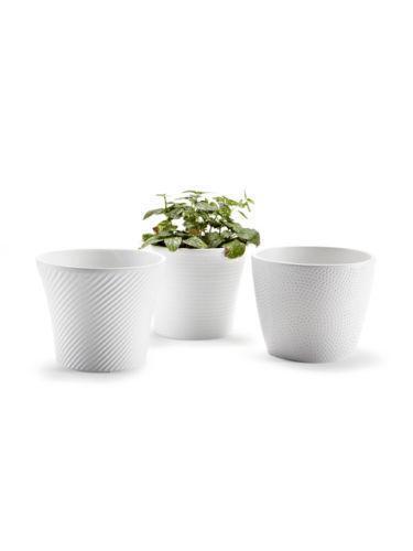 White Ceramic Flower Pots Ebay