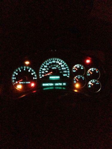 Chevy Instrument Cluster