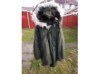 Rare Small M65 FISHTAIL PARKA with Hood / Liner Brilliant Condition