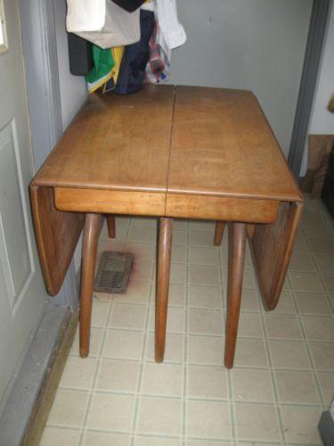 Antique Drop Leaf Dining Table | EBay