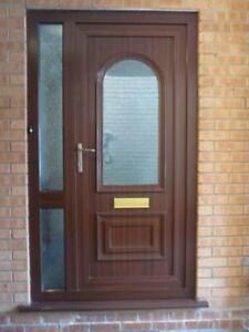 Upvc Front Door with Side Panel & Upvc Front Door   eBay