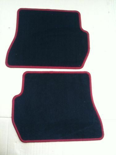 Genuine Ford Ka Car Mats in Premium Velour - Rear Set Red Stitching (1558533) & Genuine Ford KA Car Mats in Premium Velour - Rear Set Red ... markmcfarlin.com